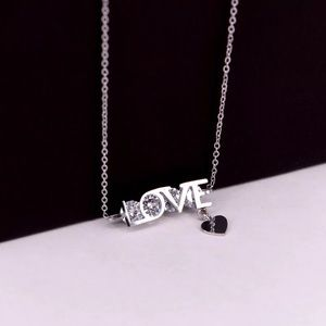 4ct Solitaire Love Necklace